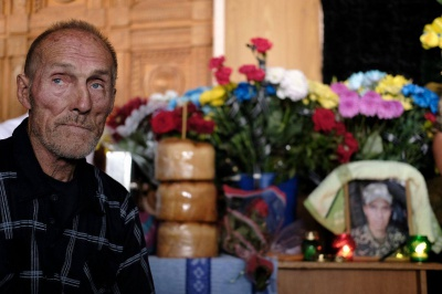 У Чернівцях прощаються із загиблим в АТО Віталієм Чунтулом (ФОТО)