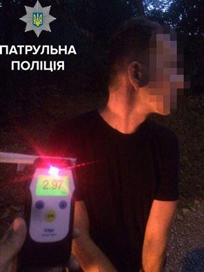 У Чернівцях затримали водія, вміст алкоголю в крові якого в 15 разів перевищив норму