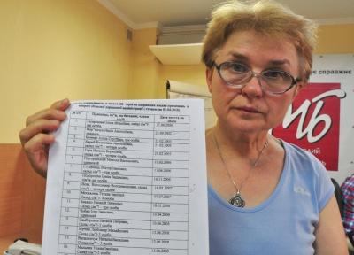 Жінці, що бореться за отримання житла, в Чернівецькій ОДА відмовились надати список черговиків