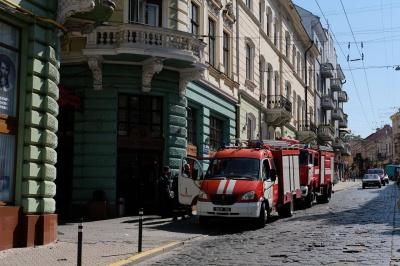 У центрі Чернівців пожежі не виявили - мешканці кажуть, що смажили шашлики