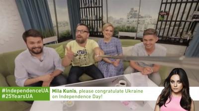 Уродженку Чернівців Мілу Куніс закликали привітати українців з Днем незалежності
