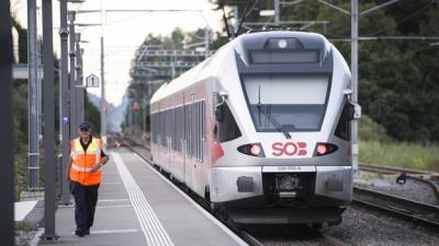 У Швейцарії чоловік підпалив вагон, а потім напав на пасажирів потяга