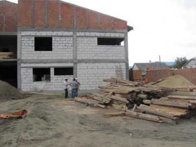 У мікрорайоні Ленківці будують сучасний дитсадок за 15 мільйонів (ФОТО)