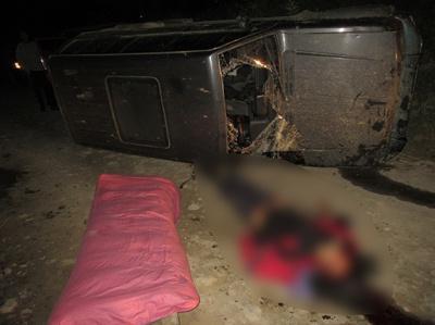 Буковинець загинув, перекинувшись на джипі на Прикарпатті