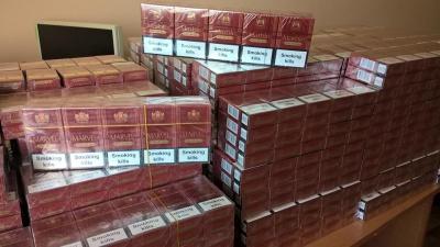 Прикордонники на Буковині виявили майже 6 тисяч контрабандних цигарок