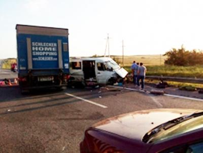 У Росії мікроавтобус з українцями потрапив у ДТП. Двоє загиблих