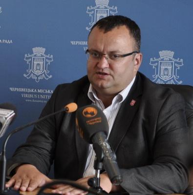 Мер Чернівців закликає депутатів не затягувати сесії