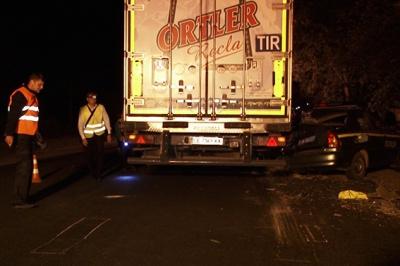 На Прикарпатті водій вантажівки з Чернівців збив на смерть поліцейського (ФОТО)