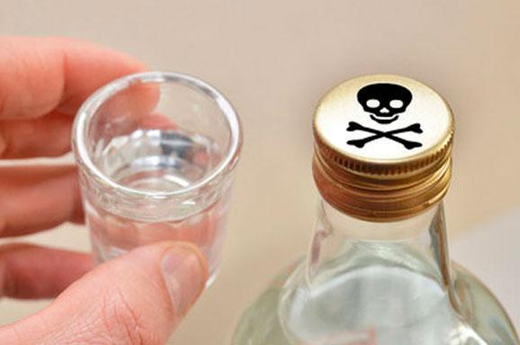 Усправі про алкоотруту наХарківщині затримано сімох підозрюваних