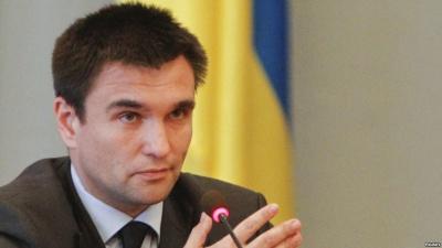 Клімкін: Надання частині Донбасу статусу автономії є неприйнятним