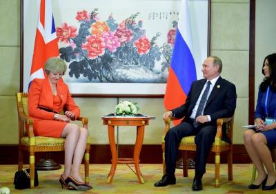 Англійський прем'єр провела зустріч з Путіним