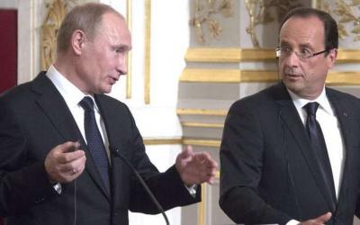 Переговори Олланда і Путіна були невдалими, кожен тримався своєї думки, - ЗМІ