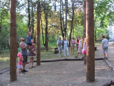 На вітапаркурі в Чернівцях – 43 вправи на всі групи м'язів (ФОТО)