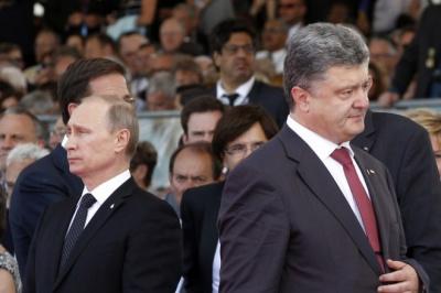 У Кремлі не бачать необхідності у зустрічі Порошенка з Путіним