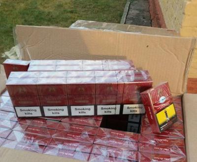 Буковинські прикордонники затримали чергову партію контрабандних сигарет