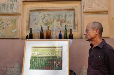 Відомий художник вчетверте презентував картини про Чернівці
