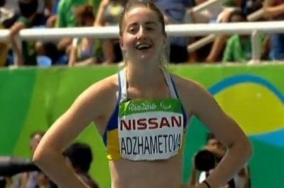 Паралімпіада: Лейла Аджаметова стала першою у фіналі бігу на 100 м