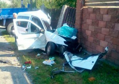 На Рівненщині у жахливій аварії загинули двоє дітей та дорослий