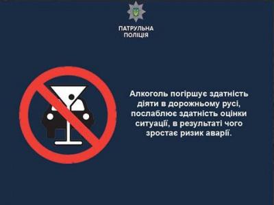 За ніч поліція у Чернівцях затримала 4 п'яних за кермом