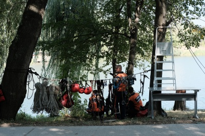Чернівчани відчули себе в ролі рятувальників (ФОТО)