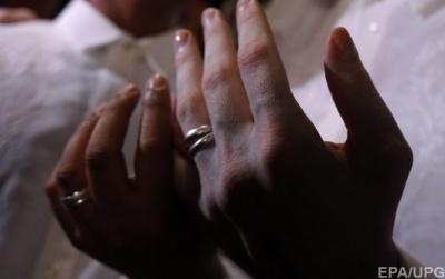 В Італії уклали перший одностатевий цивільний шлюб
