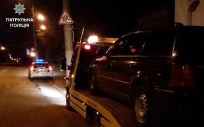 У Чернівцях за кермом автівки затримали водія під амфетаміном