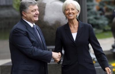 Порошенко домовився з Лагард про візит місії МВФ в Україну