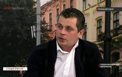 «Я не боюсь політичних репресій»: головні цитати депутата-втікача Білика з Чернівців