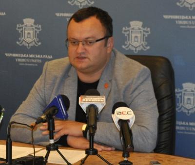 Каспрук розкритикував небажання депутатів голосувати за кошти для «Чернівціводоканалу»