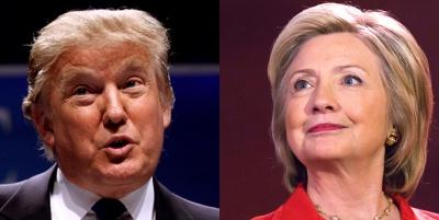 У теледебатах Клінтон перемогла Трампа