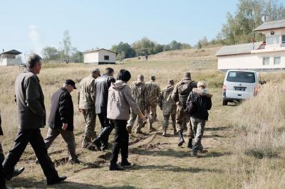 На Буковині вчилися затримувати диверсантів (ФОТО)