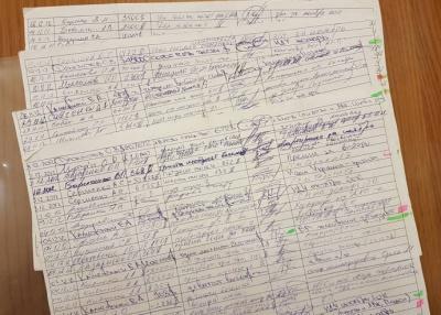 """МВС передає у НАБУ кілька листів оригіналів """"чорної бухгалтері Партії Регіонів"""""""