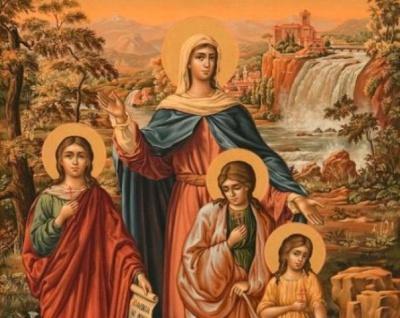 У день Віри, Надії, Любові жінкам дозволялося не працювати