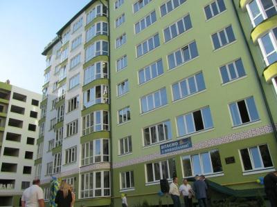 У Чернівцях здали в експлуатацію житловий будинок на 67 квартир (ФОТО)