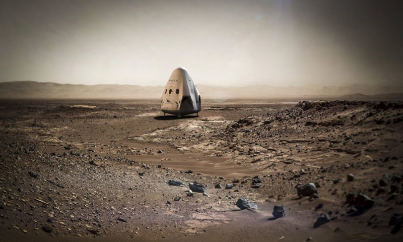 США планують відправити людей наМарс до2030-х років