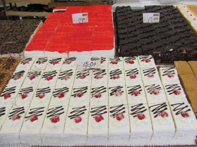 У Чернівцях на Центральній площі продають смаколики (ФОТО)