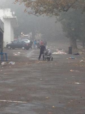 """Глядачі концерту """"Океану Ельзи"""" залишили на стадіоні """"Буковина"""" гори сміття (ФОТО)"""