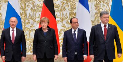 """Меркель запросила лідерів """"Нормандської четвірки"""" на вечерю"""