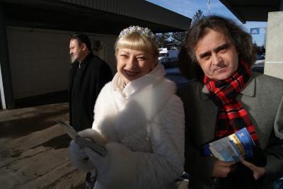 """Дует """"Писанка"""" та Іван Гешко на кордоні з Молдовою закликали боротися з корупцією"""