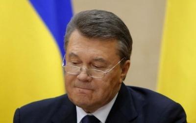 Швейцарія заморозила рахунки Януковича та його оточення ще на рік
