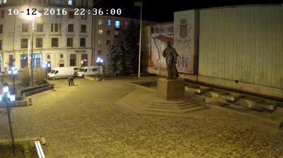 Панно на Центральній площі Чернівців могло обвалитися, - департамент ЖКГ