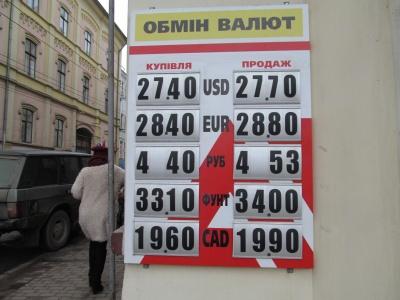 Долар і євро трохи подорожчали – курси в обмінниках Чернівців (ФОТО)