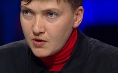 Савченко заявила, що готова зустрітися з ватажками бойовиків у Києві
