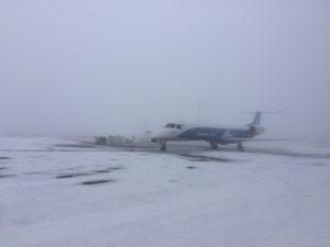 Самолет на Киев все еще не может вылететь из Черновцов, пассажиры ждут