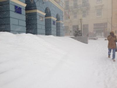 Черновцы засыпало снегом: жители города делятся фотографиями в соцсетях