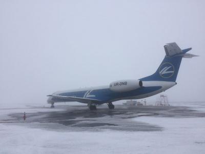 Літак до Києва з Чернівців знову не полетів – сьогодні не приймає Бориспіль