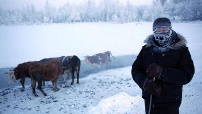 Фотограф показал, как живет холодное село в мире: впечатляющие фото