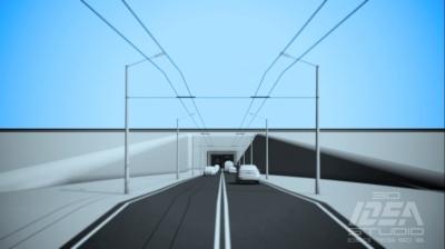 Як може виглядати тунель у Чернівцях - депутати оприлюднили відеографіку