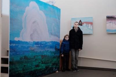 У Чернівцях відкрили виставку хлопчика-аутиста Данила Гулька (ФОТО)