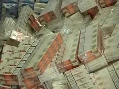 Упродовж лютого буковинські оперативники виявили дві спроби контрабанди рекордних партій цигарок
